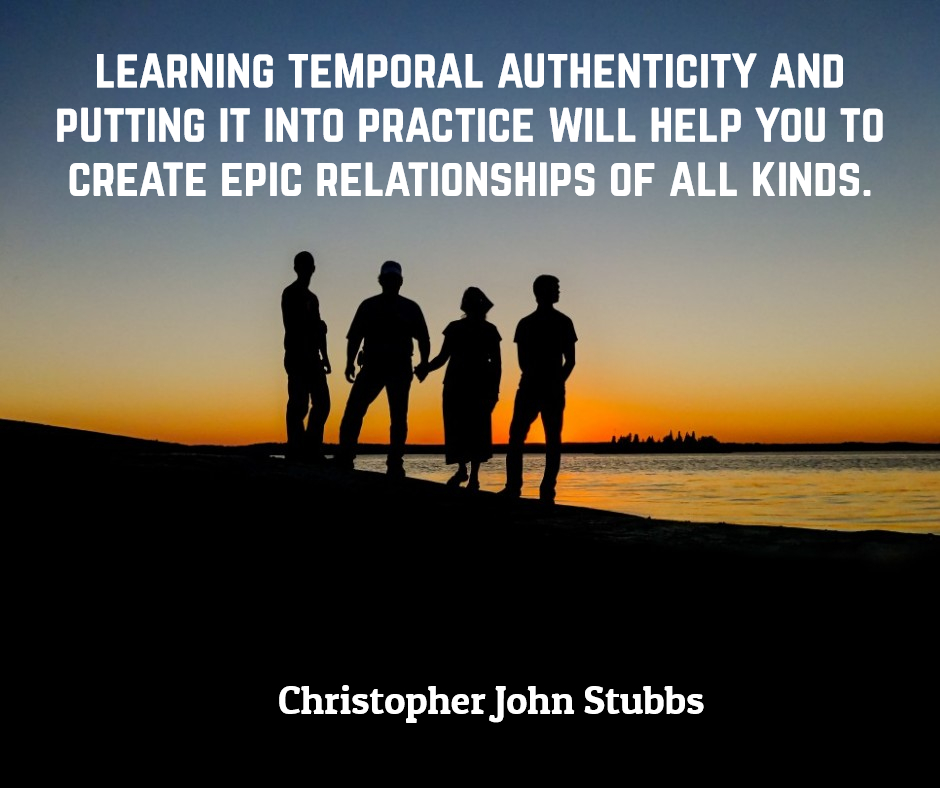 A Conscious Exploration Of Eternal Versus Temporal Authenticity